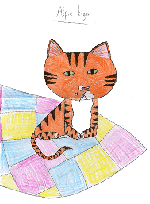 Alfie Tiger by Esme Gill-Brown