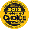 Preferred Choice Award 2012, Creative Child Magazine for Time for bed! - by Mandy Stanley