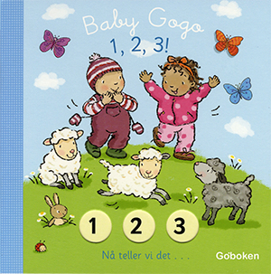 1, 2, 3 - Goboken, illustrated by Mandy Stanley