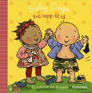 Fra topp til ta - Goboken, illustrated by Mandy Stanley