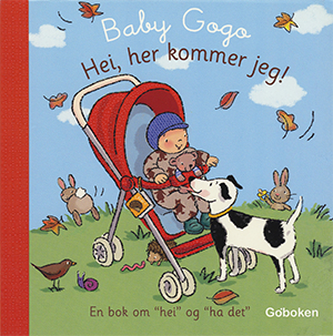 Hei, her kommer jeg! - Goboken, illustrated by Mandy Stanley