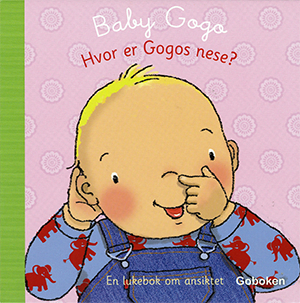 Hvor er Gogos nese? - Goboken, illustrated by Mandy Stanley
