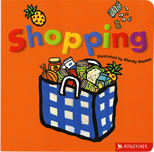 Shopping, illustrated by Mandy Stanley