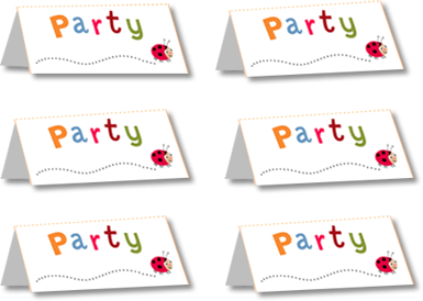 Party place names