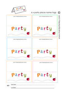 Party place names download