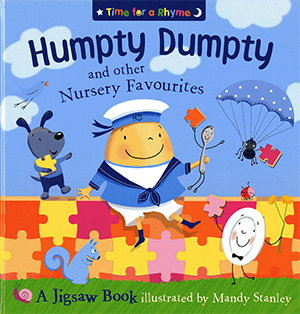 Humpty Dumpty and other Nursery Favourites - Illustrated by Mandy Stanley