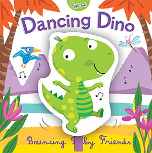 Dancing Dino - illustrated by Mandy Stanley
