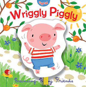 Wriggly Piggly - illustrated by Mandy Stanley