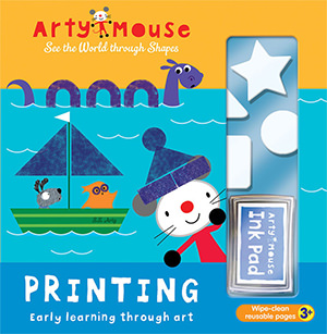Arty Mouse Printing cover