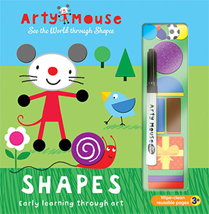 Arty Mouse Shapes cover