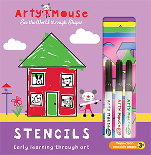 Arty Mouse Stencils cover