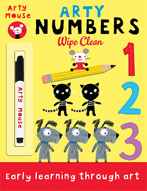 Arty Numbers cover