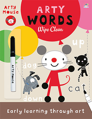 Arty Words book cover