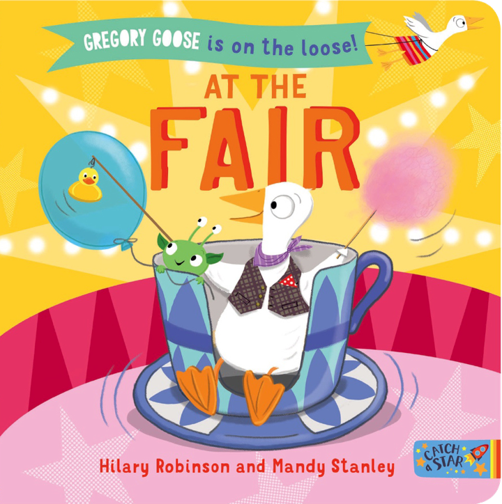 Book cover for Gregory Goose at the Fair.